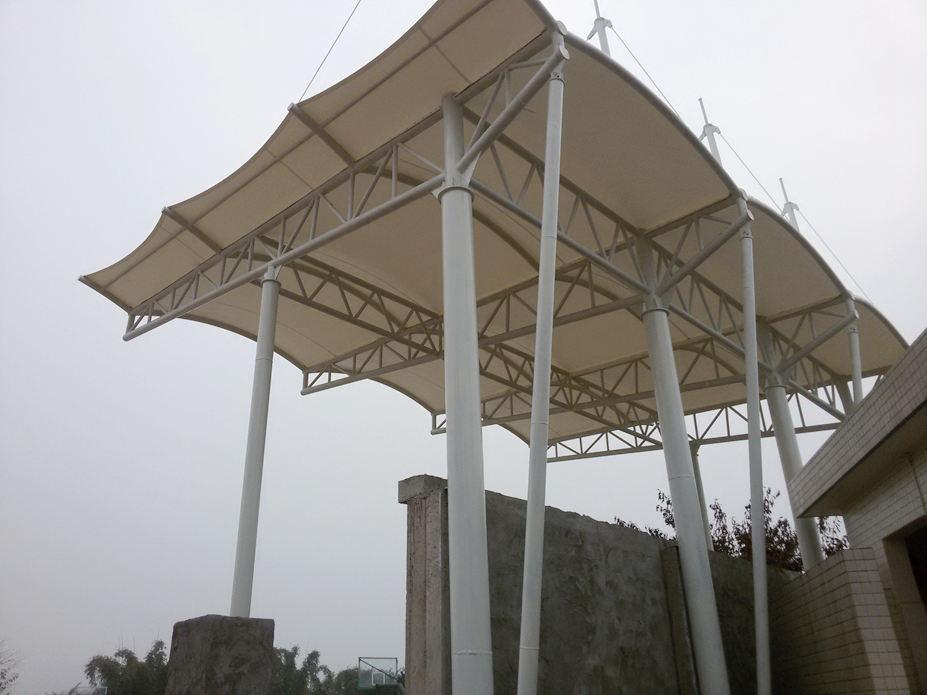 眉山广济中学看台膜结构